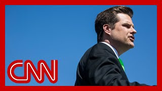 Ex-prosecutor: About the worst possible news for Matt Gaetz