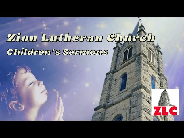 Children's Sermon - 20210314 - Pastor Lisa