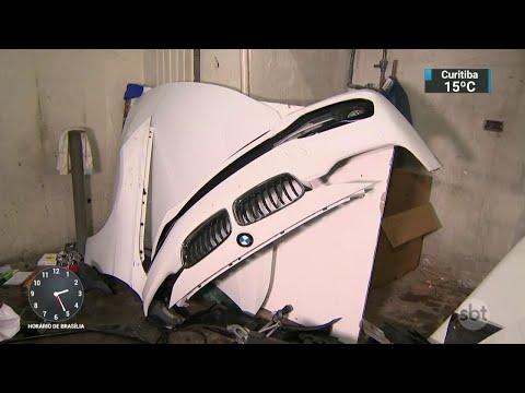 Desmanche de carros de luxo é descoberto na zona leste de SP | SBT Notícias (25/04/18)