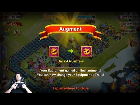 JT's Free 2 Play Augmenting FIRST Hero Pumpkin Duke + Rolling Traits Castle Clash