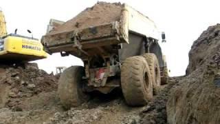 Construction equipment at work PHE GANDRUP