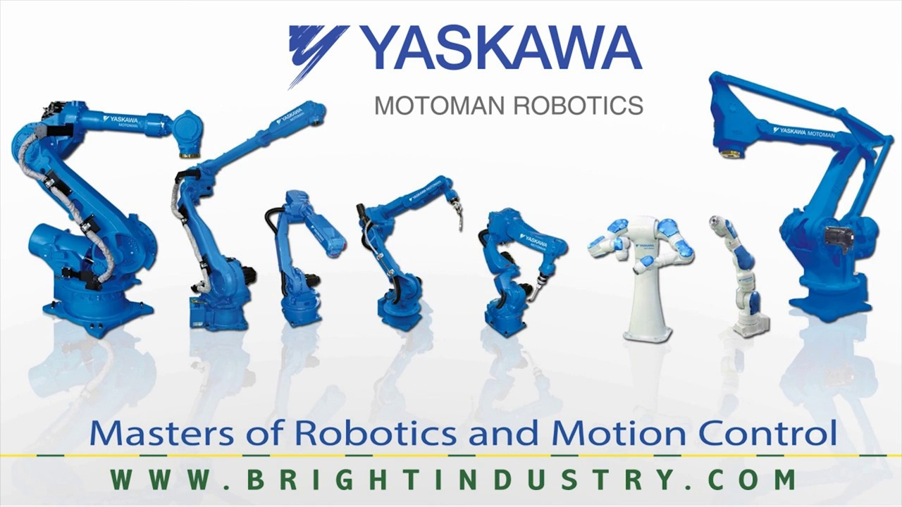 Bright Industry represent Yaskawa Motoman