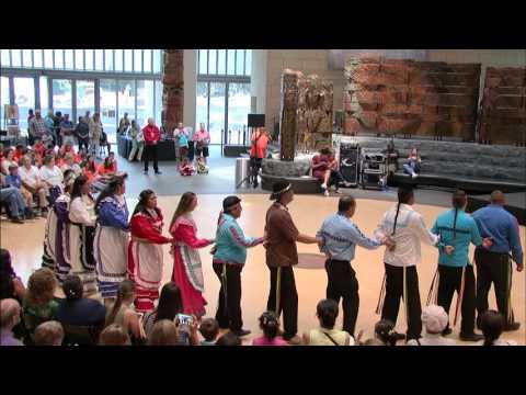 Choctaw Festival Day 1-  Social Dances 2
