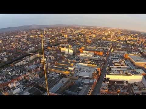 Above The Dublin Spire Sunrise