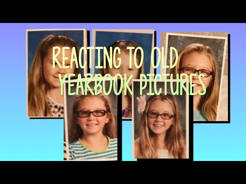 Reacting To Old Yearbook Photos **CRINGE**