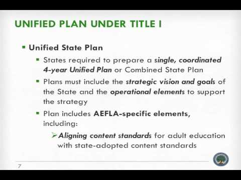 1998 act adult education family literacy