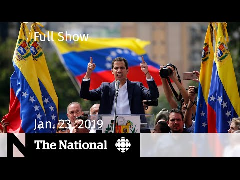 The National for January 23, 2019 — McCallum on Huawei, Venezuela Protests, Fluoride Debate Mp3