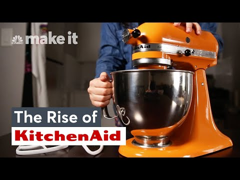 How The KitchenAid Stand Mixer Became A Status Symbol