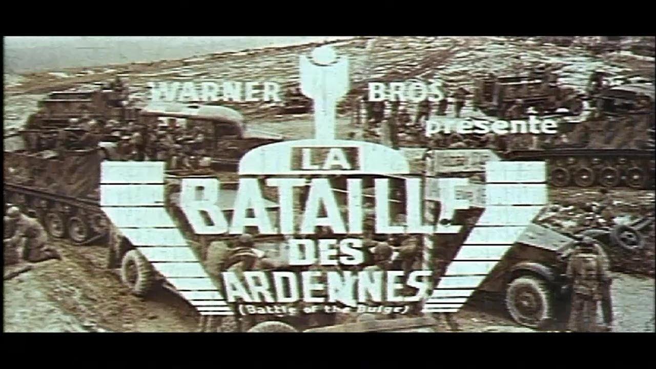 La Bataille des Ardennes (1965) Bande annonce ciné française VF