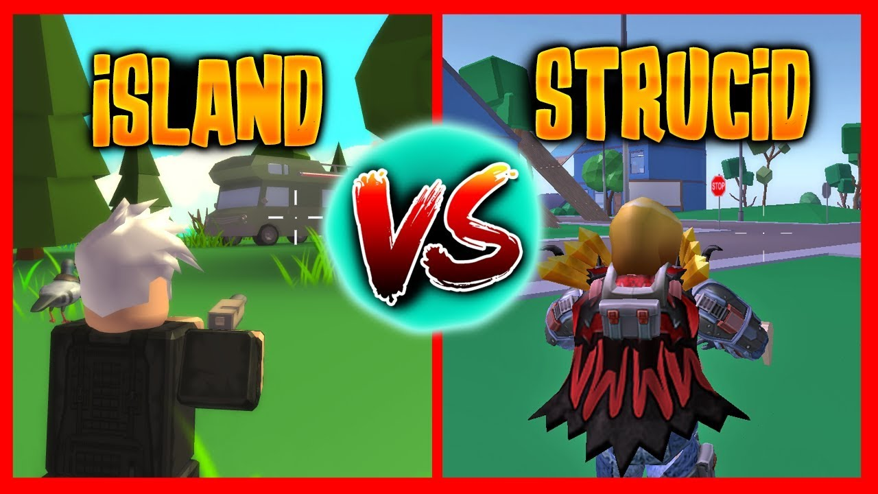 STRUCID VS ISLAND ROYALE - Roblox - YouTube