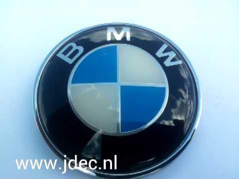 bmw m3 m5 kofferbak emblem embleem logo wwwjdecnl