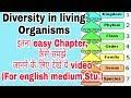 Diversity in living organisms class 9 cbse