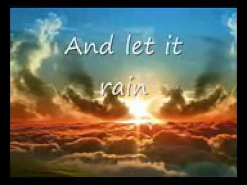 Anthony Evans Let it rain wlyrics