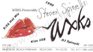 Kiss 108 9:56 Hot Mix (DJ Steve Spinelli) with Constance Valcanas (Lady D) 1990