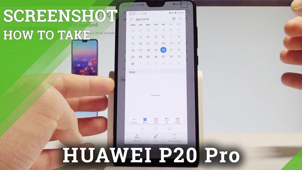 Screenshot huawei p20