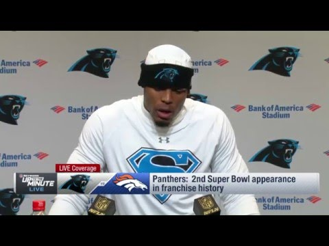 Cam Newton: When You Win, That Gives Them Something Else to Talk About   Super Bowl    NFL
