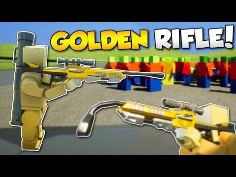 GOLDEN SNIPER RIFLE IN ZOMBIE APOCALYPSE?! - Brick Rigs Multiplayer Gameplay - Zombie Survival