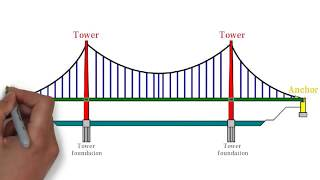 Why suspension bridge are so common? How they work?