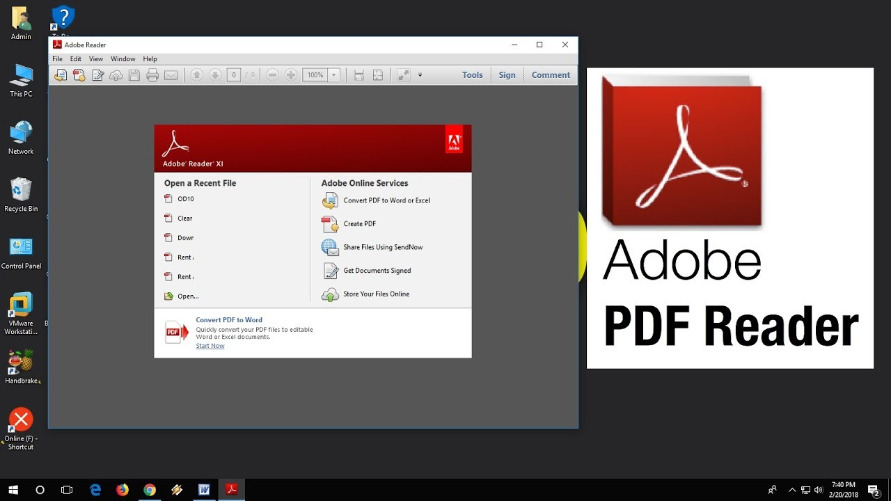 adobe reader 10 free download for pc