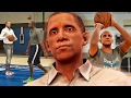 Retired President BARACK OBAMA Takes His Talents To The NBA! - NBA 2K17
