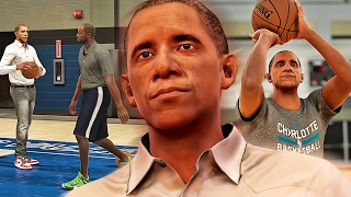 Retired President BARACK OBAMA Takes His Talents To The NBA! – NBA 2K17