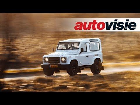 TopHat Land Rover Defender met LS3 V8 - Autovisie TV