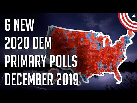 Is This Becoming a Biden vs. Bernie Race? 6 New 2020 Democratic Primary Polls - December 2019