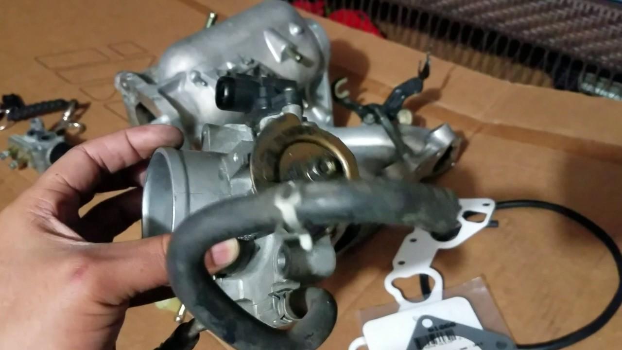 medium resolution of part 1 d16y7 to d16y8 intake manifold swap