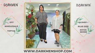 03 05 2021 Часть 2 Показ женской одежды больших размеров DARKWIN от DARKMEN Турция Стамбул Опт