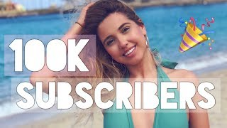 Celebrating 100K! Giveaway for my Subscribers. THANK YOU! (CLOSED)