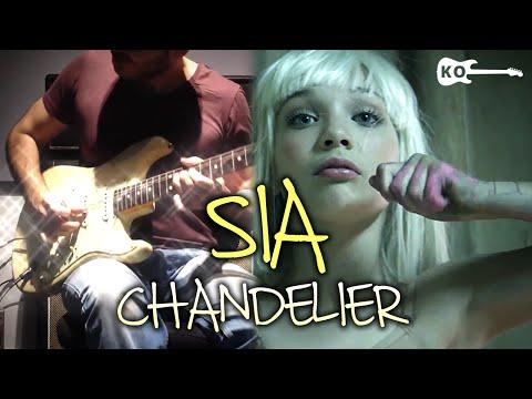 Sia - Chandelier - Electric Guitar Cover by Kfir Ochaion