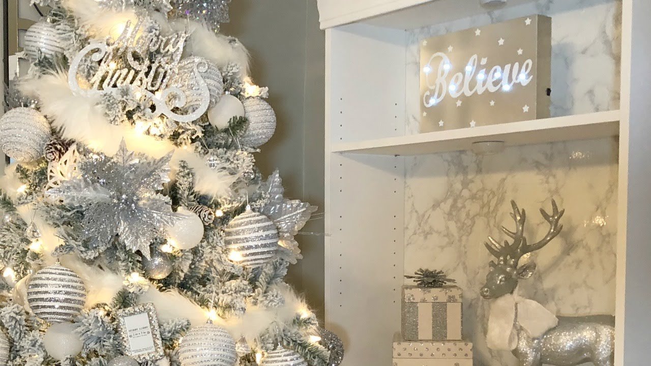 decorate with me christmas tree decor 2017 - Christmas Tree Decorations 2017