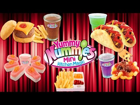 YUMMY NUMMIES DINER DELIGHTS MEGA COMPILATION (BURGER, FRIES, SUSHI, PIZZA, NUGGETS, SPAGHETII)
