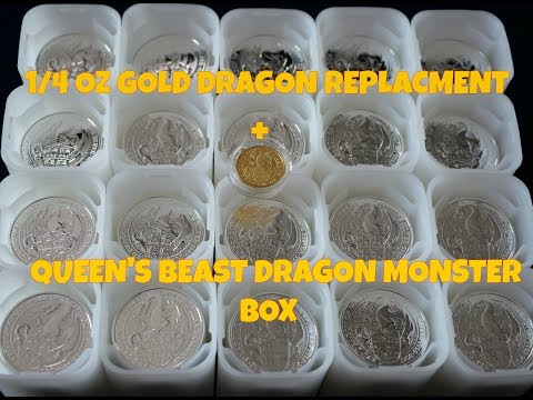 400 Oz Monster Box + 1/4 Oz Gold Replacement