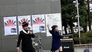 2013/10/14新宿コズミックセンター前.