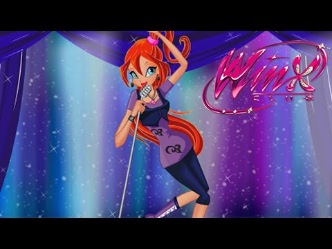 Winx Club Movie Video Game - Bloom Rock Star Dress Up (NEW Winx Club Game for Girls)