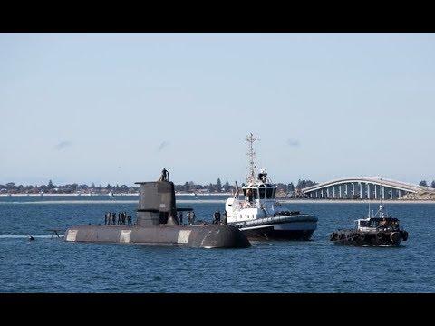 HMAS Waller returns from deployment