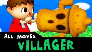 Villager - All Custom Moves | Super Smash Bros. 3ds