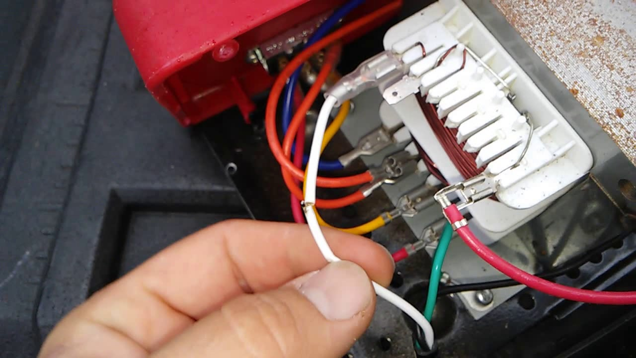 small resolution of item 60322 centec battery charger problem