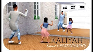 The Sims 4 | Kaliyah Pearson | PONPONPON | Dance CHOREOGRAPHY Ft K'eon