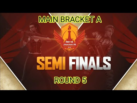 Jakarta Invitationals | Round 5 Main Bracket A | Semi Finals Garena Free Fire Indonesia
