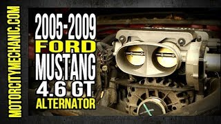 2005-2009 Ford Mustang GT alternator replacement