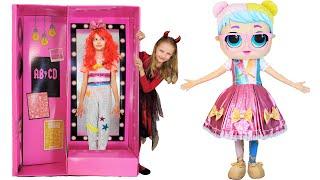 Polina y la extraña muñeca Dulzura