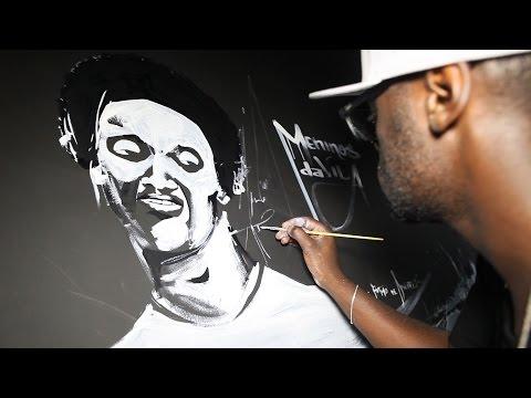 Grupo OPNI faz grafite em loja do Peixe