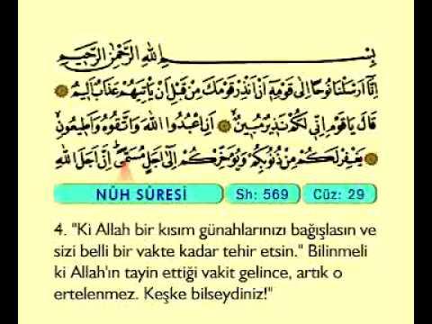 Fatih Çollak 29.cüz (Komple Video Hatim)