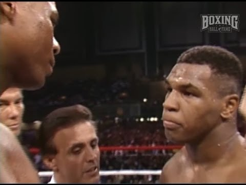 """Mike Tyson KOs Biggs """"If I don't kill him--it don't count."""""""