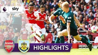 Aubameyang trifft zum Sieg | FC Arsenal - FC Burnley 2:1 | Highlights - Premier League 2019/20