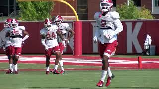 Hog Football Practice - 8-20-19 / Defense
