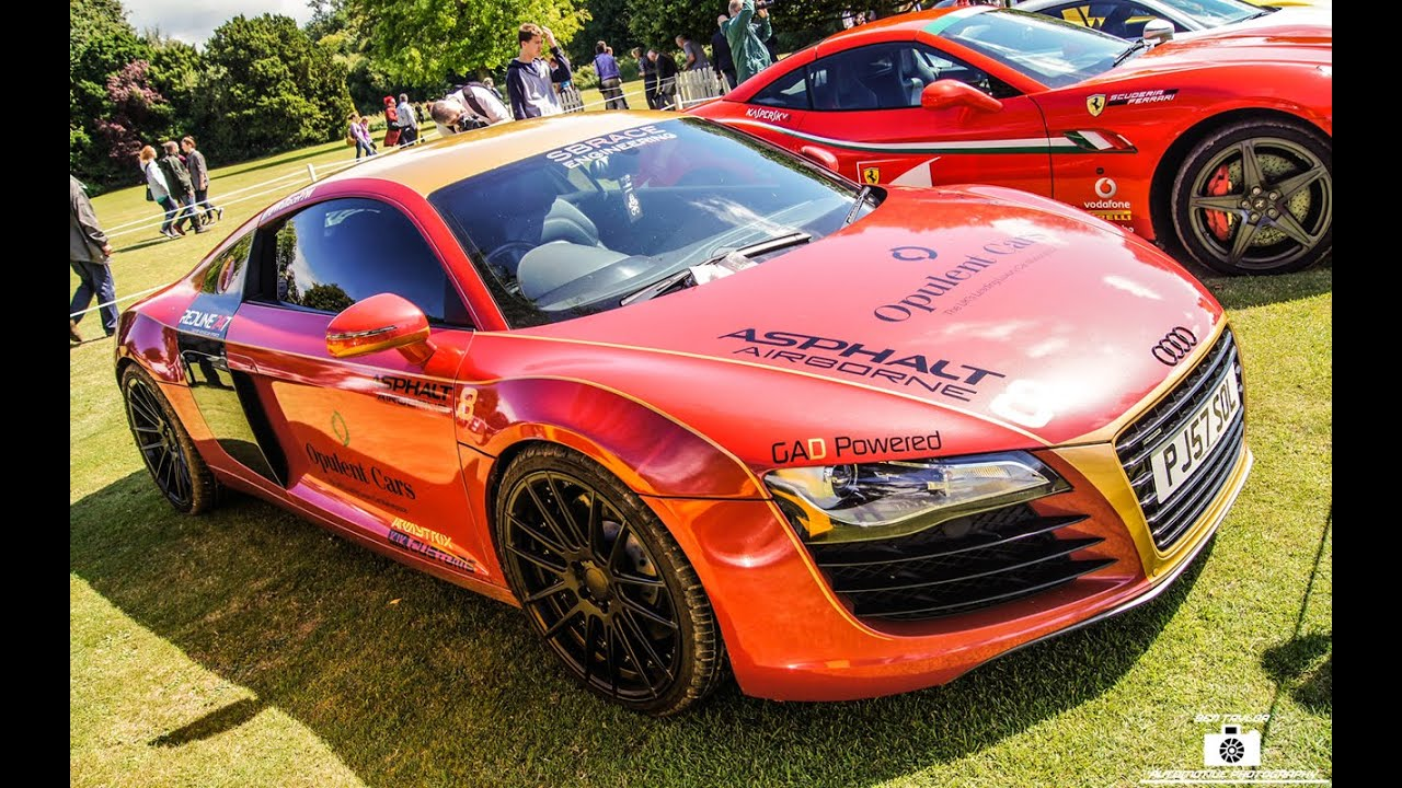 Supercars Of London Ironman Audi At Wilton Classic And Supercar