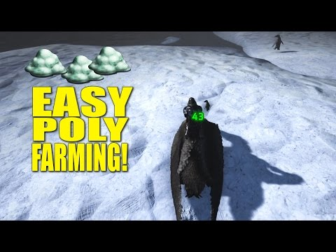 Easy Polymer Farming! (Pvp Tribe Life/The Island) - Ark: Survival Evolved -Ep.7
